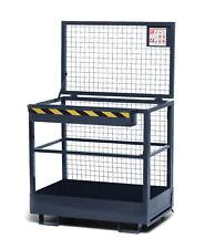 RAL 7005 - grau Arbeitskorb // Staplerkorb // Sicherheitskorb RAK kranbar