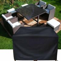 Patio Furniture Cover Square Rattan Wicker Table Chair Cover Outdoor Sofa Cover