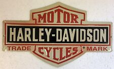 Ande Rooney HARLEY DAVIDSON H-D BAR & SHIELD Motorcycle Garage Man Cave Tin Sign