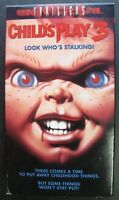 CHILD'S PLAY 3 LOOK WHO'S STALKING VHS MOVIE HORROR CHUCKY