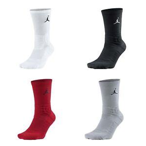 Nike Unisex Air Jordan Ultimate Flight 2.0 Crew Socks Basketball Hoops Pick 1