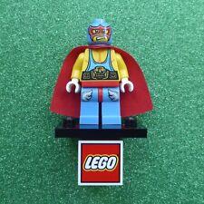 Genuine Lego Super Wrestler Minifigure (Used - Series 1 - COL010)
