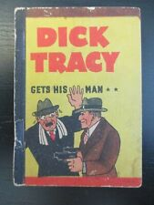Dick Tracy Gets His Man, 1938 Penny Book, Very Rare, By Chester Gould