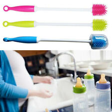 Kitchen Tool Dishes Scrubbing Baby Bottle Cleaning Brush Kids Long Handle Home