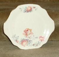 """Royal China Inc dish plate 10"""" Rosemary 22-K-gold National Brotherhood Potters"""