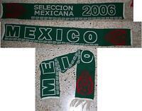 bufanda futbol selección MEXICO scarf mexicana temporada 2006