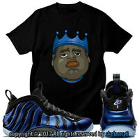 NEW NIKE AIR FOAMPOSITE PENNY PACK MATCHING CUSTOM T SHIRT FOAM 1-8-12