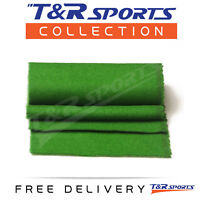 6x Thick Grass Green Double-sided Wool Pool Table Felt Strips for Cushion