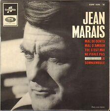 "JEAN MARAIS / FRANCOIS RAUBER ""LA SOMNAMBULE"" 60'S EP COLUMBIA 1696"