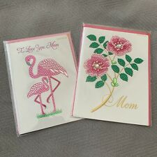 papyrus mothers day cards x2