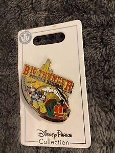 Disney Big Thunder Mountain Railroad Slider Pin - Train, Mickey, Donald & Goofy