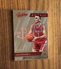 2015-16 Panini Absolute Basketball~SAM DEKKER #176 RC~Rookie SP 358/999