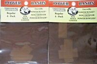 ELK INC POWER BUGLE WOLF POWER HOWLER REPLACEMENT BANDS WHITE REGULAR (2 pack)