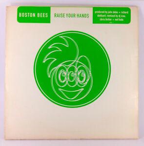 """Boston Bees * Raise Your Hands * 12"""" 2x Vinyl 1996 Promo"""