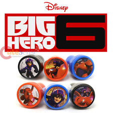 Disney Big Hero 6 Self Ink Stamps Set for 6 Baymax Hiro Stamps