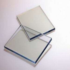 Styrene Clear Polystyrene Flat Glazing sheet,Sneeze Gaurds, 8x4 ft (Perspex ALT)