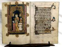 Book Of Hours 1300-1325 AD /  Facsimile