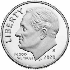 2020 S Silver Proof Roosevelt Dime .999 Silver*Gem Bu* Deep Cameo*Pre-Sale*