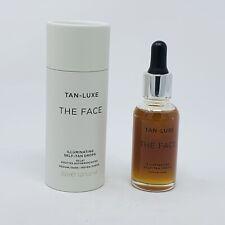TAN-LUXE THE FACE Illuminating Self-Tan Drops Medium/Dark 1.01 oz/30 ml BNIB