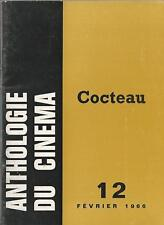 Anthologie Du Cinema #12 Cocteau by Claude Beylie IN FRENCH Jean Cocteau