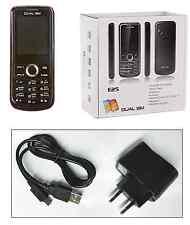 DUAL SIM BLACK UNLOCKED MOBILE PHONE E25