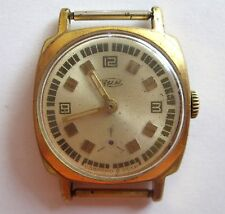 Old POBEDA ZIM Factory Vintage RUSSIAN Soviet WindUp Mechanical 15Jew Watch AU10