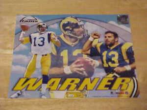 Kurt Warner Rams Limited Print 148/500 LICENSED 8X10 Photo FREE SHIPPING 3/more