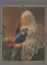 "QUEEN VICTORIA  portrait 8x10"" laminated REPRODUCTION colour"