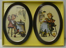 Hummel Wall Plaques >> Set Of Two Hummel Wall Plaques