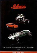 Schuco 2013 Katalog Neuheiten 1: Autos, Traktoren, Motorräder, Flugzeuge;