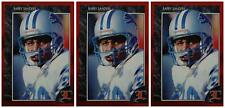 (3) 1992 Legends #59 Barry Sanders Football Card Lot Detroit Lions