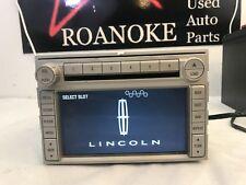 08 2008 Lincoln MKZ Radio Receiver AM FM 6 Disc MP3 w/Navigation System OEM