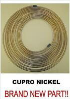 "CUPRO NICKEL KUNIFER BRAKE PIPE 3/16"" X 25FT 22G BS EN 12449"