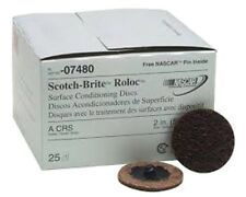 "3M 2"" Coarse Scotch Brite™ Roloc™ Surface Conditioning Discs mmm7480 - FULL BOX"