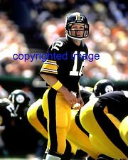 Terry Bradshaw Pittsburgh Steelers 1970-83 HOF'er 1989   Color 8x10 A