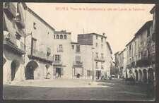 Spain Postcard Besalu Plaza De La Constitucion Y Calle Conde