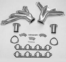 FORD 429 - 460  POLISHED STAINLESS STEEL BLOCK HUGGER HEADERS TO 1987 (076)