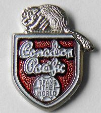 CANADIAN PACIFIC RAILWAY CANADA RAILROAD LOGO PIN BADGE HALF INCH
