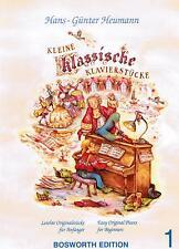 Klavier Noten : Kleine Klassische Klavierstücke 1 sehr leicht - leicht  B-wARE