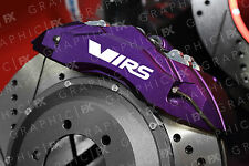 x6 Skoda VRS Logo Premium Vinyl Brake Caliper Decals - Stickers