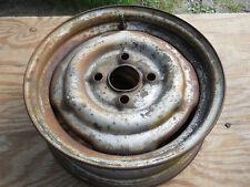 "1960-1969 BMW wheel STEEL rim ORIGINAL STRAIGHT RIM 13"" 4 hole 4 1/2"" WIDE 2002"