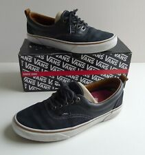 Vans Era MTE All-Weather Shoes Trainers Leather Suede Black, UK 7, US 8 Boxed
