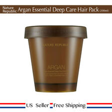 Nature Republic Argan Essential Deep Care Hair Pack 200ml + Free Sample [ US ]