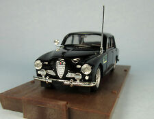 BRUMM 1950 Alfa Romeo 1900 Police (Black) 1/43 Scale Diecast Model NEW, RARE!