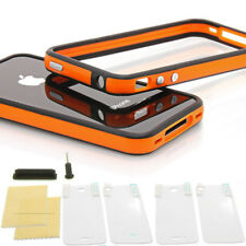 ? iPhone 4/4S TPU Bumper ? Silikon Case Schutz Hülle Cover Schale Original Verp.