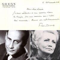 🌓 CAS Pierre DUX à Louise CONTE Théâtre de l'Odéon Federico García Lorca 1974