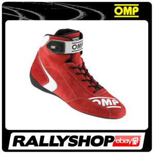FIA Approved OMP First S Shoes, size 48 CHEAP DELIVERY WORLD! Red