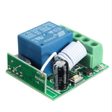 12V10A 1CH 433MHZ Relay DC Wireless RF Remote Control Switch Receiver