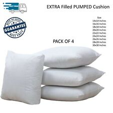 4 PACK Deep Filled Cushion Inners Inserts Pads PUMPED Fillers Scatters Pillows