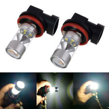 2Pcs Auto H11 H8 Fog Light 120W 2323 LED Bulbs DRL Replacement White High Power